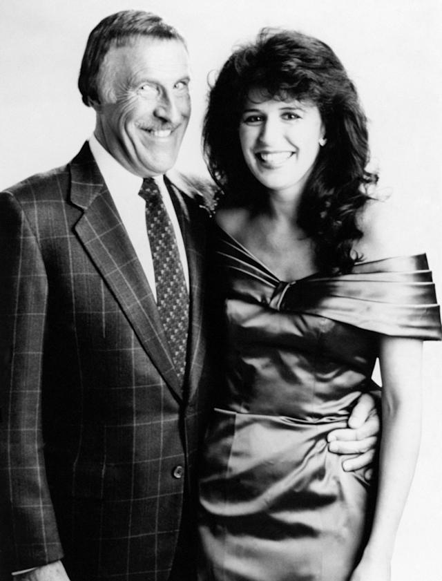 <p>Bruce Forsyth and Rosemary Ford at a photo call ahead of a new series of The Generation Game in 1990. </p>