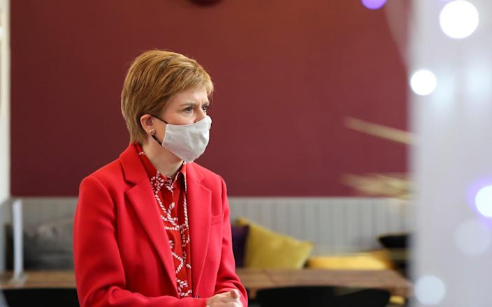 The SNP fear spooking moderate swing voters with talk of radical change - Reuters