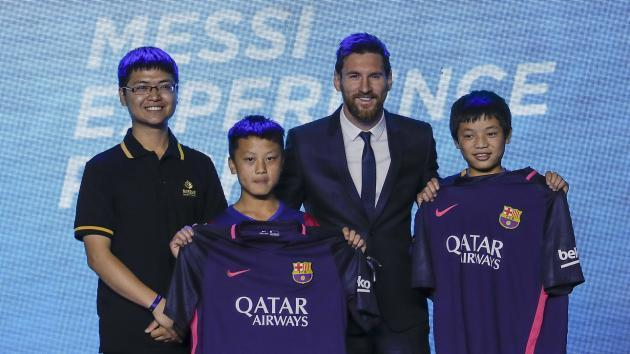 Messi aiming to win everything with Barca after launching theme park