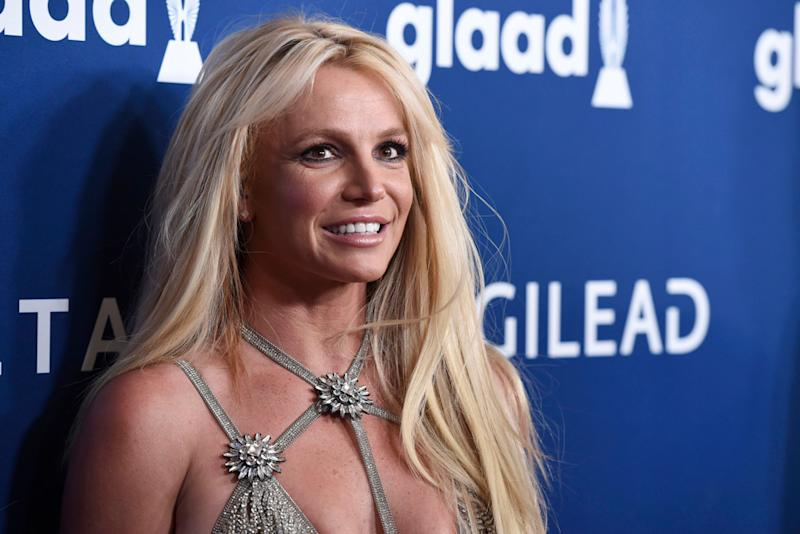 9a72d8616 Britney Spears Outshines All at the GLAAD Media Awards in the Tiniest,  Sparkliest Dress