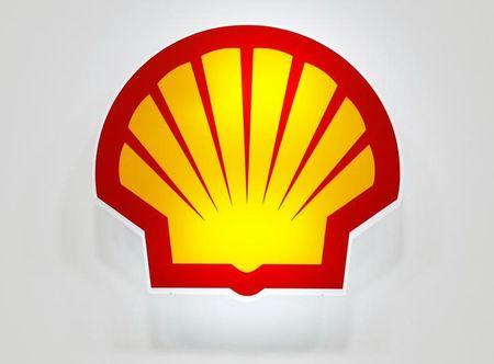 Logo of Shell is seen at the 20th Middle East Oil & Gas Show and Conference (MOES 2017) in Manama