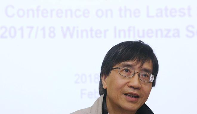 Professor Yuen Kwok-yung warned this was Hong Kong's last chance to stop the outbreak. Photo: David Wong