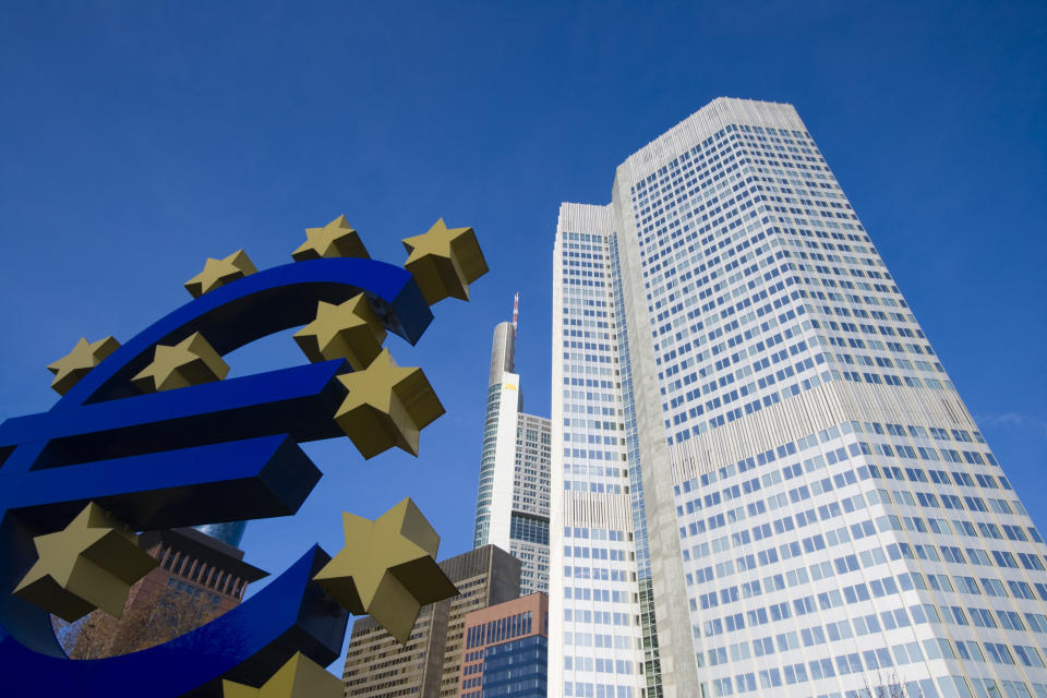 The European Central Bank said its latest dividend recommendation will remain valid until September 2021. Photo: Getty