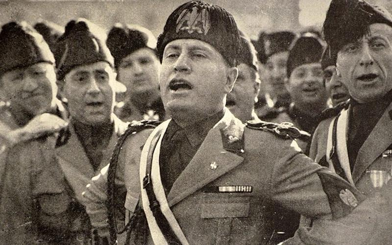 Mussolini was leader of Italy from 1922 to 1943 - Rex