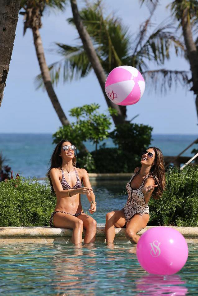 """""""Looking great on the beach is all about confidence,"""" Alessandra Ambrosio said."""