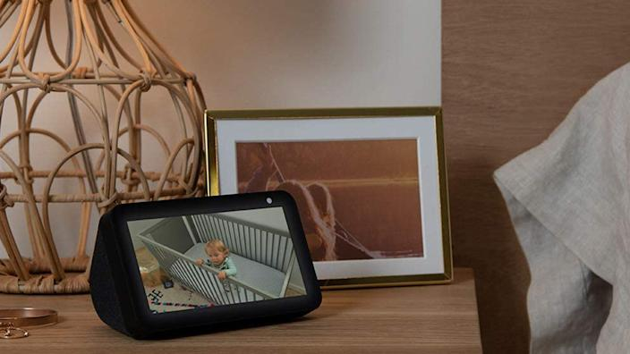 The compact size of the Echo Show 5 makes it a great bedside option—and it's on sale.