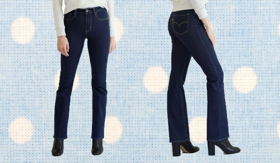 Score $20 off these elongating jeans. (Photo: Zulily)