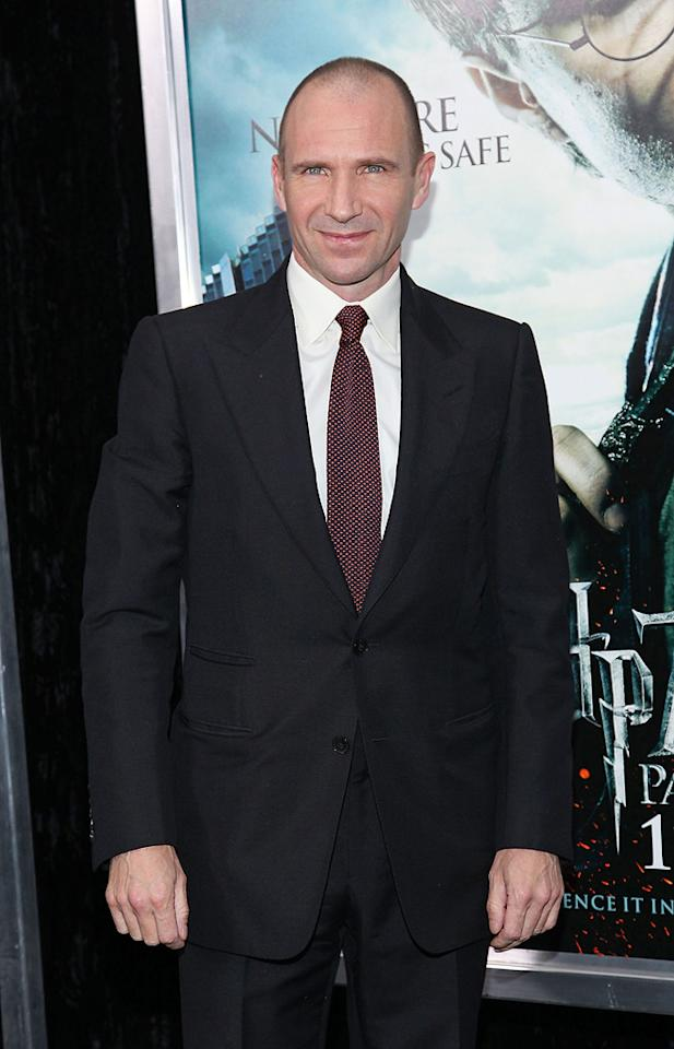 """<a href=""""http://movies.yahoo.com/movie/contributor/1800019488"""">Ralph Fiennes</a> attends the New York premiere of <a href=""""http://movies.yahoo.com/movie/1810004780/info"""">Harry Potter and the Deathly Hallows - Part 1</a> on November 15, 2010."""