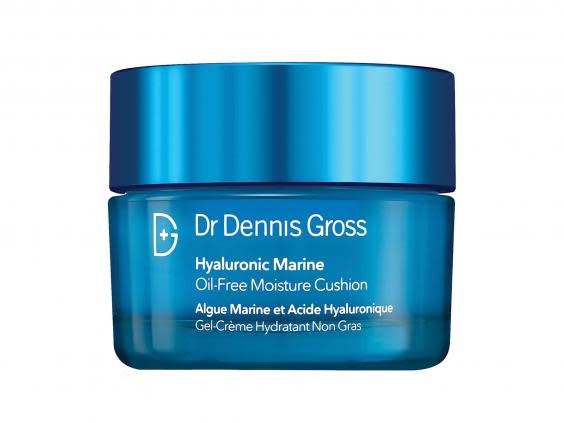 Moisturisers work to retain water and prevent water loss in the skin, acting as a protective barrier (Net-A-Porter)