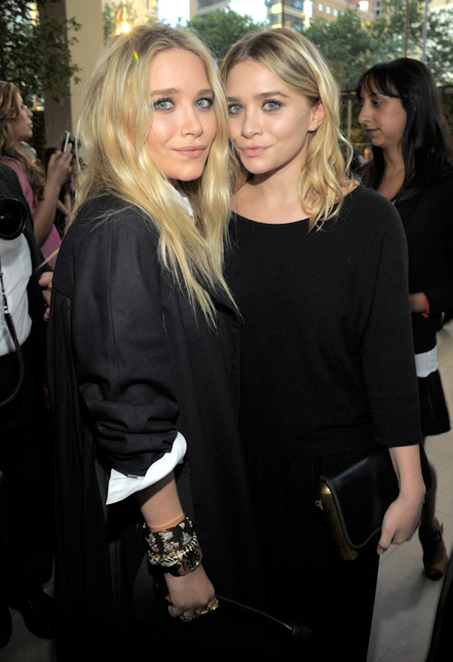 "Mary-Kate Olsen (left) and Ashley Olsen (right) look almost identical, but the ""Full House"" favorites are actually fraternal twins. Kevin Mazur/<a href=""http://www.wireimage.com"" target=""new"">WireImage.com</a> - June 7, 2010"