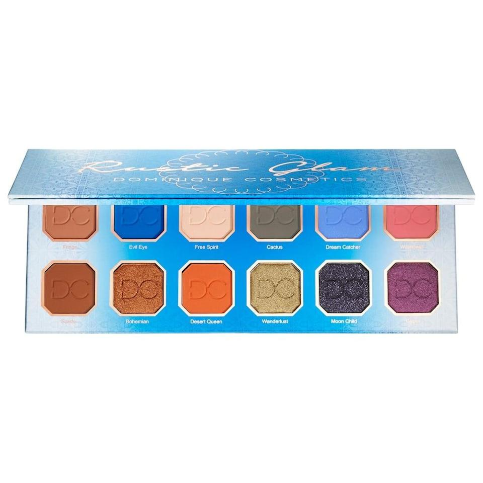 <p>Get experimental with your eyeshadow with the <span>Dominique Cosmetics Rustic Glam Eyeshadow Palette</span> ($22, originally $44). You can keep it simple with warm-toned neutrals or get creative with fun pops of color with this eyeshadow palette.</p>