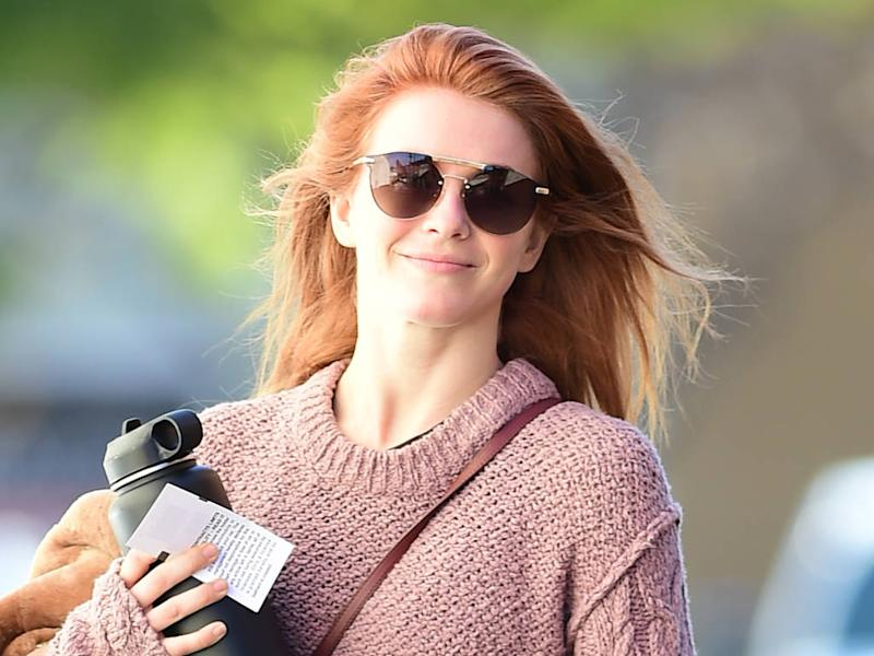 Julianne Houghs New Red Hair Took Nine Hours To Achieve