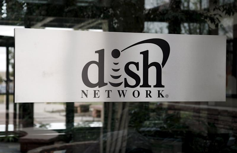 File photo of Dish Network corporate headquarters in the Denver suburb of Englewood