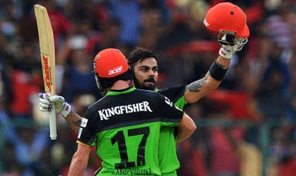 RCB Vs. Gujarat Lions at M. Chinnaswamy Stadium in the 2016 IPL season: 229-run stand