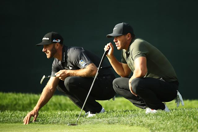 "<h1 class=""title"">The Northern Trust - Round One</h1> <div class=""caption""> (Photo by Gregory Shamus/Getty Images) </div> <cite class=""credit"">Gregory Shamus</cite>"