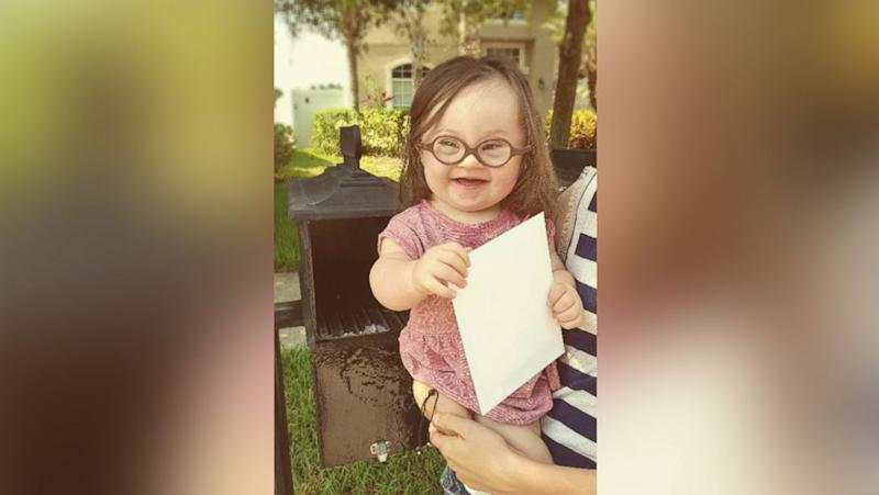 Mom and Baby With Down Syndrome Mail Letter to Doctor Who Suggested Abortion