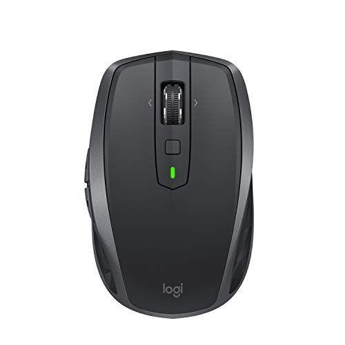"""<p><strong>Logitech</strong></p><p>amazon.com</p><p><strong>$59.98</strong></p><p><a href=""""https://www.amazon.com/dp/B071VK5KXN?tag=syn-yahoo-20&ascsubtag=%5Bartid%7C2089.g.2817%5Bsrc%7Cyahoo-us"""" rel=""""nofollow noopener"""" target=""""_blank"""" data-ylk=""""slk:Shop Now"""" class=""""link rapid-noclick-resp"""">Shop Now</a></p><p>For those in search of a portable, comfortable, and convenient wireless mouse that you can easily toss in your laptop bag, consider this option from Logitech. It's the perfect mouse for taking on the go because of its compact design and versatility.</p><p>The MX Anywhere 2S has both Bluetooth and USB receiver connectivity for up to three computers. Its key features include stylish design, fast scrolling, customizable buttons, and the ability to work on all surfaces. </p><p>The gadget's rechargeable battery can last up to 2 months on a single charge. There are three colors to pick from: gray, white, and teal.</p><p><strong>Related: </strong><a href=""""https://www.bestproducts.com/tech/gadgets/g843/best-wireless-mouse/"""" rel=""""nofollow noopener"""" target=""""_blank"""" data-ylk=""""slk:Check Out Our Other Top-Rated Wireless Mice"""" class=""""link rapid-noclick-resp"""">Check Out Our Other Top-Rated Wireless Mice</a></p>"""
