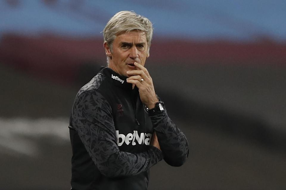 Irvine will be on the touchline again against Wolves on Sunday: POOL/AFP via Getty Images