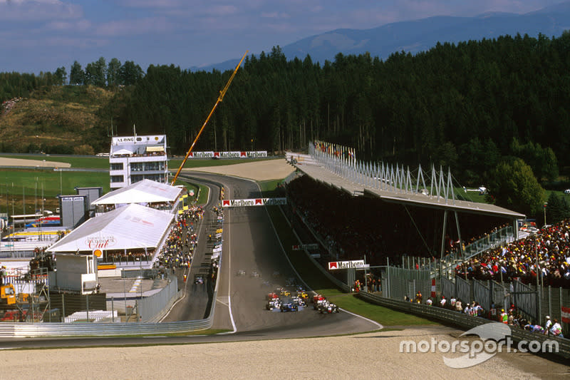 """45 Österreichring, ex A-1 Ring, actual Red Bull Ring (Spielberg)<span class=""""copyright"""">LAT Images</span>"""