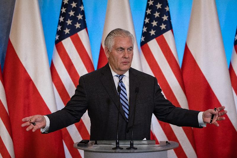 US Secretary of State Rex Tillerson accused Russia of violating agreements that it undertook to eliminate chemical weapons in Syria