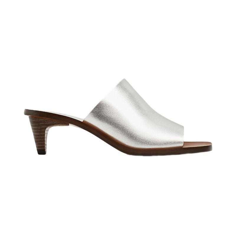"""<p><a href=""""https://www.zara.com/us/en/sale/woman/shoes/view-all/silver-toned-leather-mules-c734178p4375502.html"""" rel=""""nofollow noopener"""" target=""""_blank"""" data-ylk=""""slk:Silver-Toned Leather Mules,"""" class=""""link rapid-noclick-resp"""">Silver-Toned Leather Mules,</a> <span><span>$70</span> $50</span></p> <p> <strong>Related Articles</strong> <ul> <li><a href=""""http://thezoereport.com/fashion/style-tips/box-of-style-ways-to-wear-cape-trend/?utm_source=yahoo&utm_medium=syndication"""" rel=""""nofollow noopener"""" target=""""_blank"""" data-ylk=""""slk:The Key Styling Piece Your Wardrobe Needs"""" class=""""link rapid-noclick-resp"""">The Key Styling Piece Your Wardrobe Needs</a></li><li><a href=""""http://thezoereport.com/entertainment/celebrities/meghan-markle-meet-the-markles-reality-show/?utm_source=yahoo&utm_medium=syndication"""" rel=""""nofollow noopener"""" target=""""_blank"""" data-ylk=""""slk:Meghan Markle Is About To Be The Subject Of A New Reality TV Show"""" class=""""link rapid-noclick-resp"""">Meghan Markle Is About To Be The Subject Of A New Reality TV Show</a></li><li><a href=""""http://thezoereport.com/living/wellness/chocolate-avocado-pudding-recipe-bon-appetit/?utm_source=yahoo&utm_medium=syndication"""" rel=""""nofollow noopener"""" target=""""_blank"""" data-ylk=""""slk:If You Love Avocados And Chocolate, You Need To Try This Easy Recipe"""" class=""""link rapid-noclick-resp"""">If You Love Avocados And Chocolate, You Need To Try This Easy Recipe</a></li> </ul> </p>"""