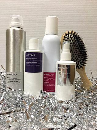 """<p>Get great hair in a snap, thanks to this kit that includes shampoo, shine spray, dry shampoo, a paddle brush, and Arrojo's Whipped Treatment. <a href=""""http://store.arrojoproduct.com/merchant.mvc?Screen=PROD&Store_Code=AP&Product_Code=holiday-1&Category_Code=HK"""" rel=""""nofollow noopener"""" target=""""_blank"""" data-ylk=""""slk:Arrojo Hydration and Shine Kit"""" class=""""link rapid-noclick-resp"""">Arrojo Hydration and Shine Kit</a> ($100)</p>"""