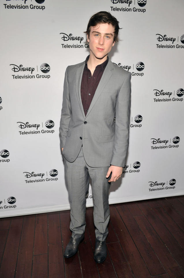 "Sterling Beaumon (""Red Widow"") attends the Disney ABC Television Group 2013 TCA Winter Press Tour at The Langham Huntington Hotel and Spa on January 10, 2013 in Pasadena, California."