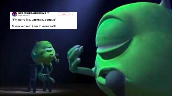 This 'Monsters Inc ' meme is guaranteed to make you nostalgic