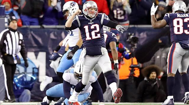 Tom Brady and the Patriots Easily Dismantle Titans, Advance to AFC Championship Game