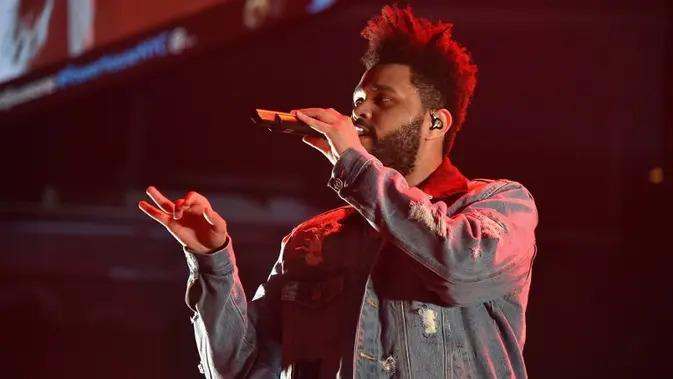 The Weeknd (THEO WARGO/GETTY IMAGES NORTH AMERICA/AFP)