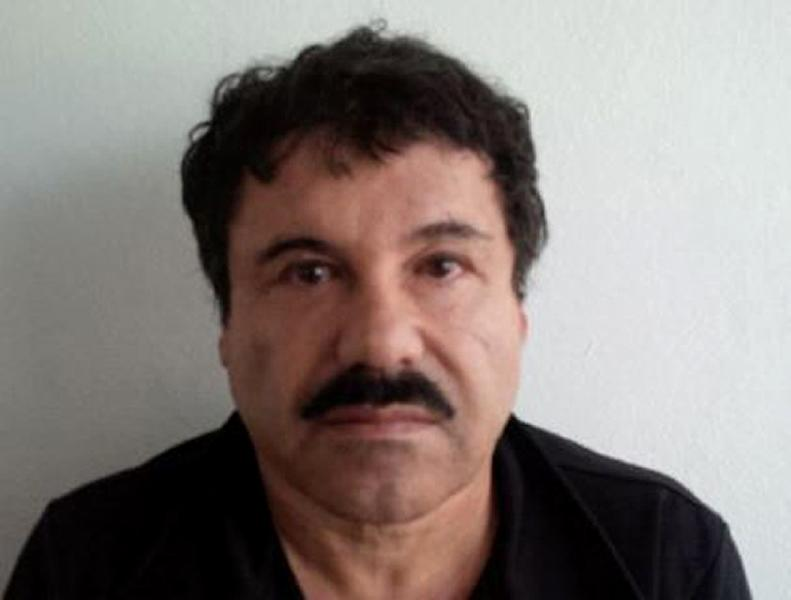 """A mugshot of Mexican drug trafficker Joaquin """"El Chapo"""" Guzman released by the Attorney General of Mexico on February 22, 2014 (AFP Photo/)"""