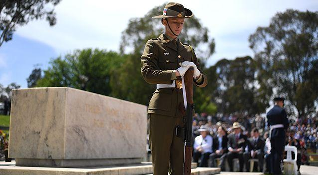 Australians had one minute silence at 11am to mark Remembrance Day. Source: AAP