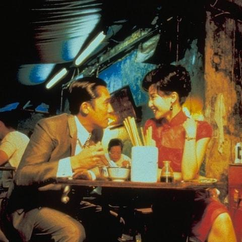 Tony Leung and Maggie Cheung in In the Mood for Love (2000) - Credit: Film Stills