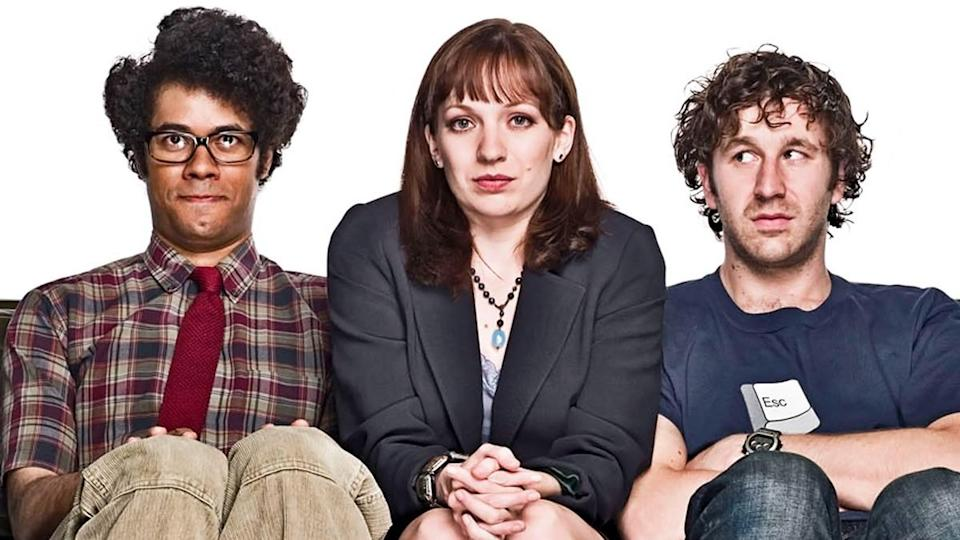 <p> <strong>UK: </strong>Netflix, All 4 </p> <p> <strong>US:</strong> Netflix </p> <p> This cleverly titled UK sitcom centres on a group of misfit IT workers who fester in the basement of a British corporation, only going upstairs to unplug computers – and to, of course, plug them back in again. Sounds slightly uninteresting, yet this gang manage to get into all sort of hijinks, mainly thanks to them all being particularly anti-social. The show became star-making for its central cast, with Chris O'Dowd, Richard Ayoade, Katherine Parkinson, and Matt Berry all now household names. Plus, with Chris Morris and Noel Fielding act as recurring cast members, what's not to love. Just don't go in expecting any good football chat. </p>