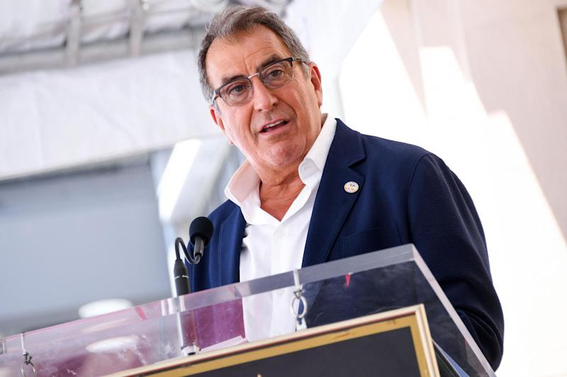 Kenny Ortega during the ceremony honouring him with a star on the Hollywood Walk of Fame on 24 July 2019: VALERIE MACON/AFP via Getty Images