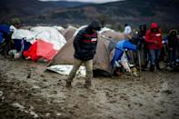 Migrant numbers at Tabanovce camp on the Macedonian-Serbian border have dropped off sharply since the so-called Balkan route was effectively shut down, although some still cross the region with the help of smugglers