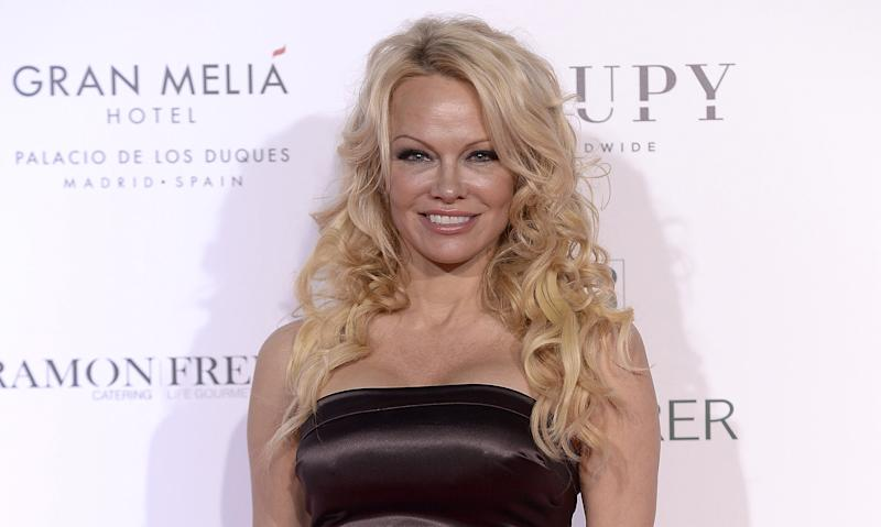 Pamela Anderson revealed whether she would ever pose for Playboy again. (Photo: Fotonoticias/WireImage)
