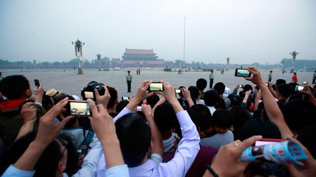 Tiananmen Square Quietly Remembered 23 Years Later