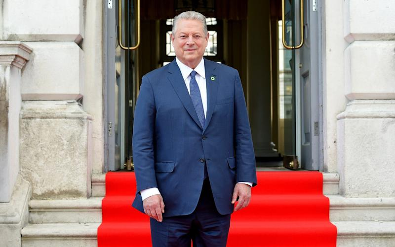 Former US vice president Al Gore - Getty Images Europe