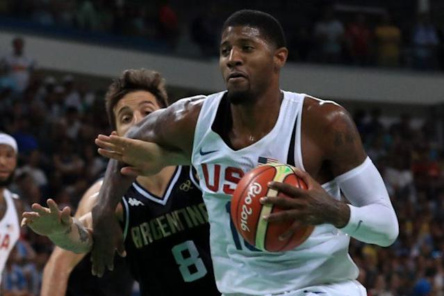 Paul George said his Olympic experience boosted his confidence. (Getty Images)