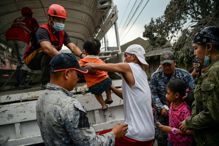 The volcanic activity has forced over 20,000 people to seek refuge in evacuation centres