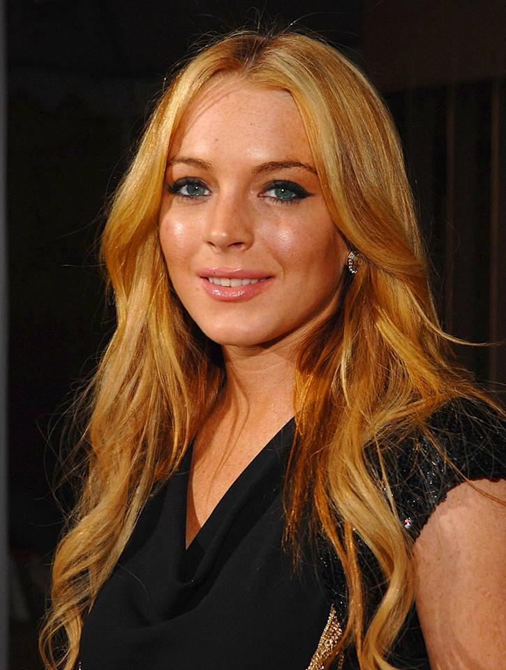 "Lindsay Lohan has been hitting the bleach bottle a lot lately, but we think she looks best as a redhead. John Sciulli/<a href=""http://www.wireimage.com"" target=""new"">WireImage.com</a> - March 26, 2007"