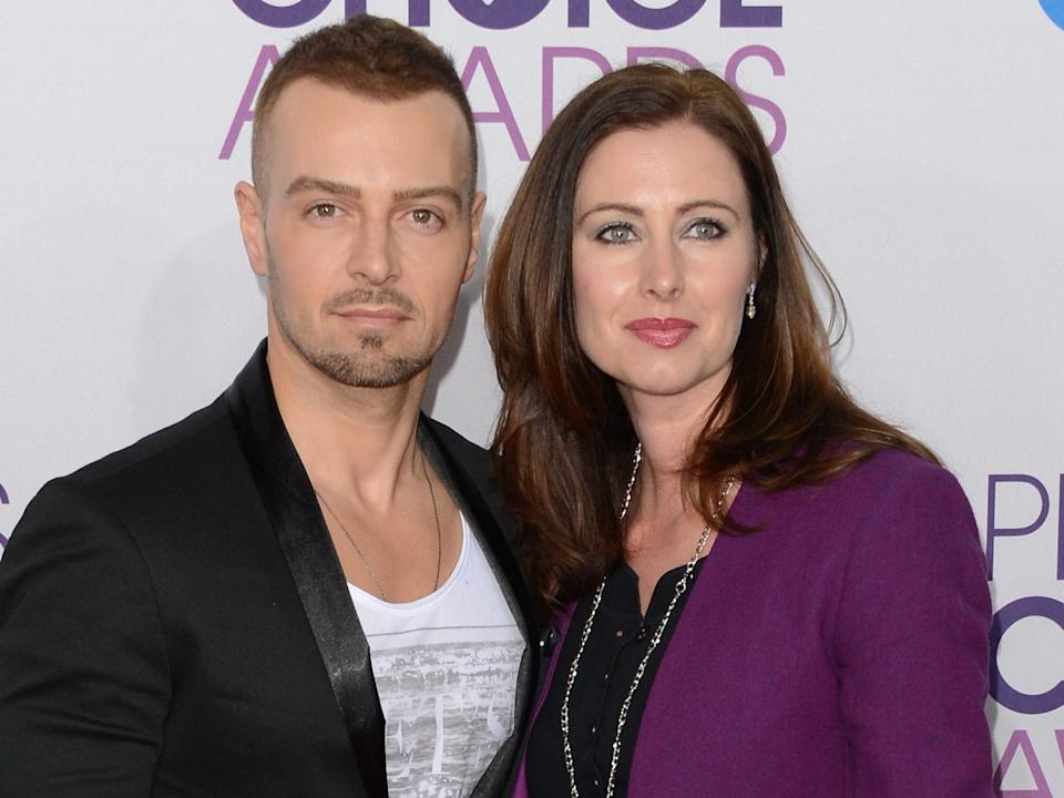 joey lawrence and chandie yawn nelson january 2013