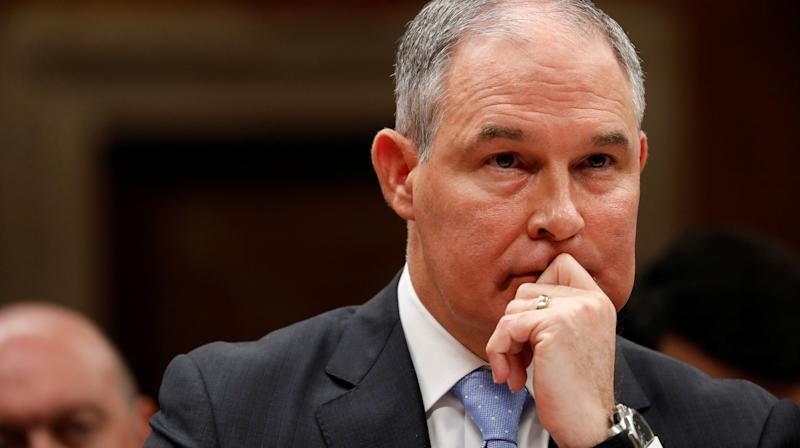 EPA Chief Seems Happy To Answer Fox News' Softball Questions On Climate Change