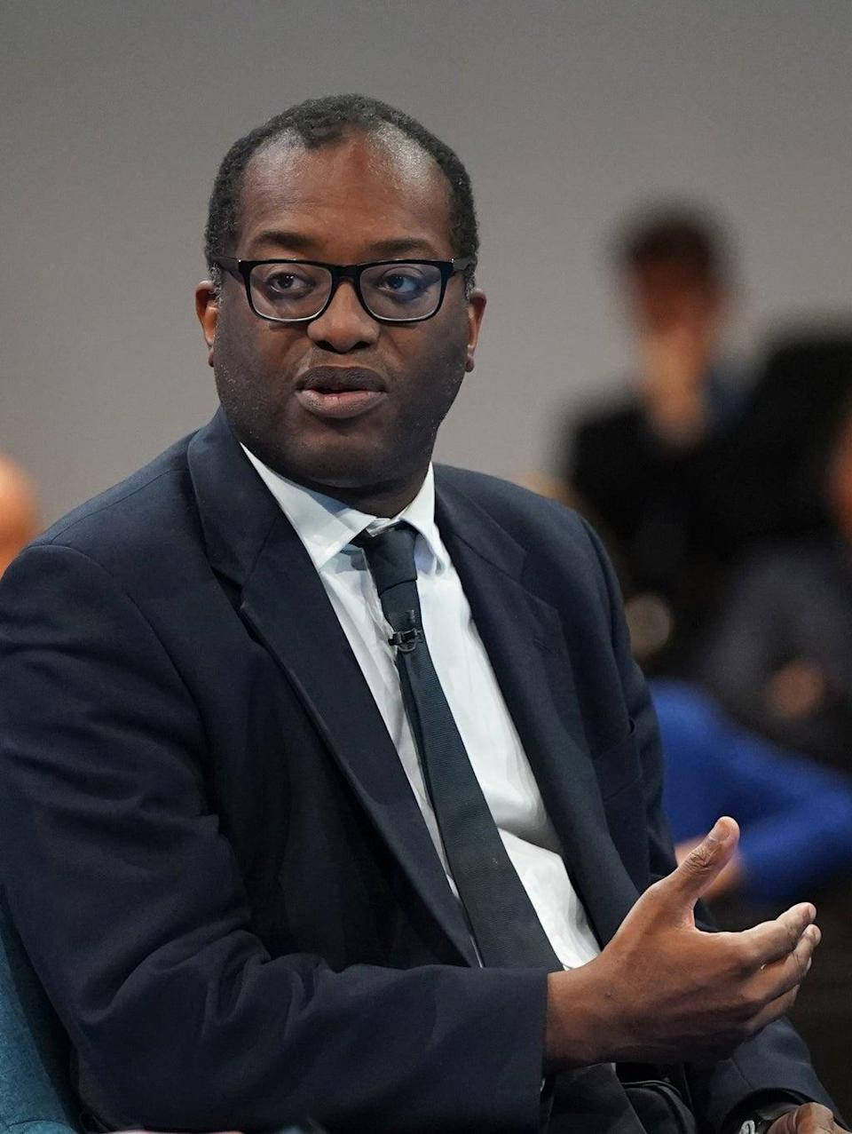 Business Secretary Kwasi Kwarteng during the Conservative Party Conference in Manchester (Stefan Rousseau/PA) (PA Wire)