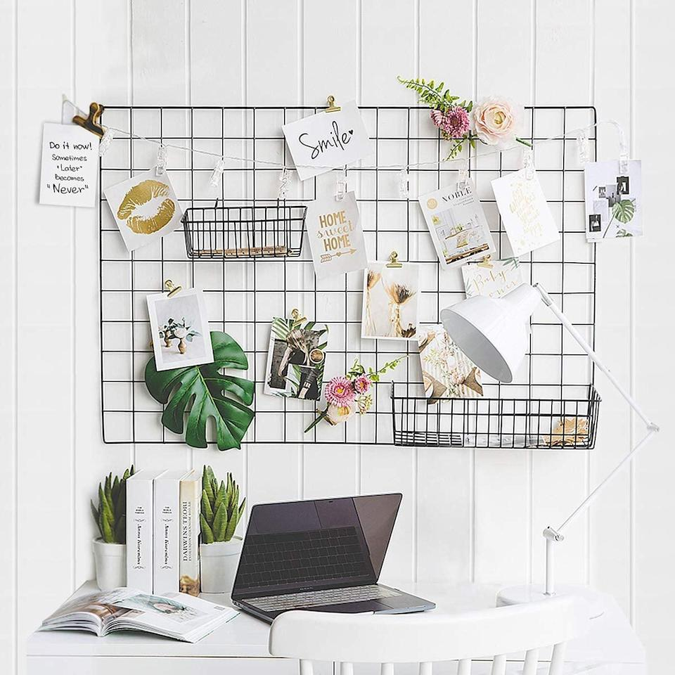 <p>There are so many ways to use these <span>Gbyan 2-Pack Wall Grid Panels </span> ($29).</p>