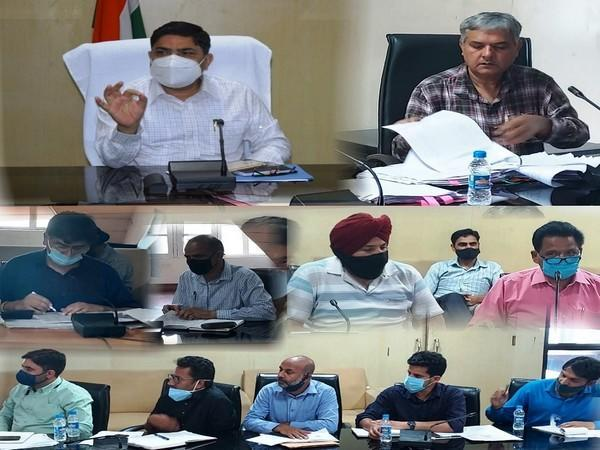 Review meeting for the construction of border bunkers