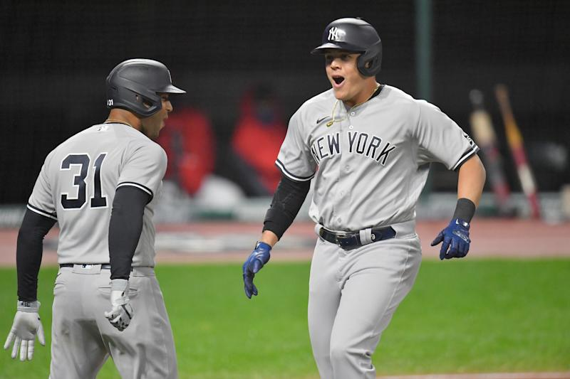 The New York Yankees are going to the ALDS. (Photo by Jason Miller/Getty Images)