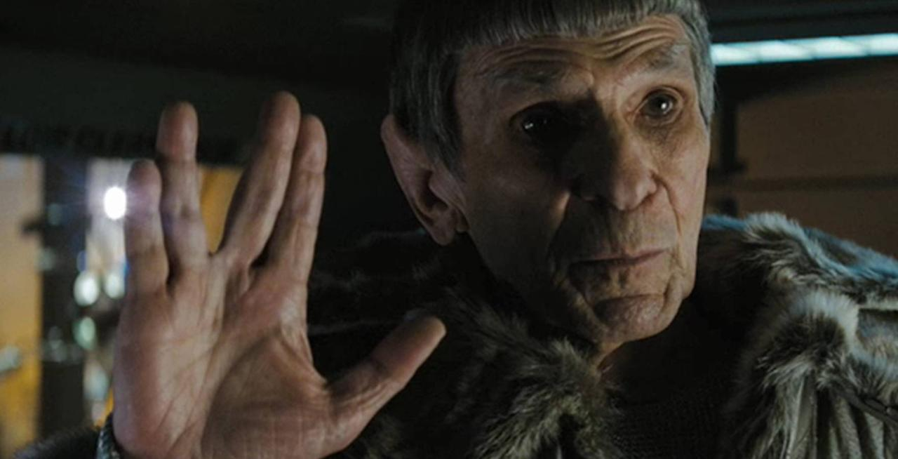 "Leonard Nimoy as Spock (""Star Trek"") — Many had thought they'd seen the last of Leonard Nimoy's iconic Vulcan character Captain Spock in 1991's ""Star Trek VI: The Undiscovered Country."" However, the actor/director was able to reprise the character alongside his younger self (played by Zachary Quinto) in J.J. Abrams' 2009 franchise reboot ""Star Trek,"" thanks to a plot that hinged on alternate realities. Spock's appearance was a passing of the ""Trek"" torch from the old cast to the new."