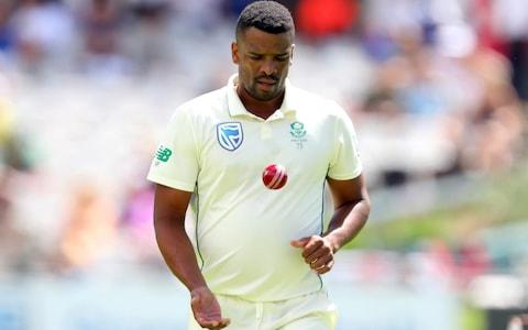Vernon Philander of South Africa during day 1 of the 2nd Test match between South Africa and England at Newlands Cricket Stadium on January 03, 2020 in Cape Town, South Africa. - Credit: Getty Images